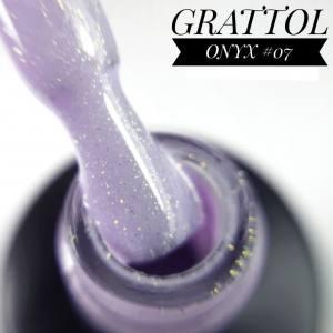 Гель-лак GRATTOL Onyx 07, 9 мл