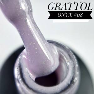 Гель-лак GRATTOL Onyx 08, 9 мл