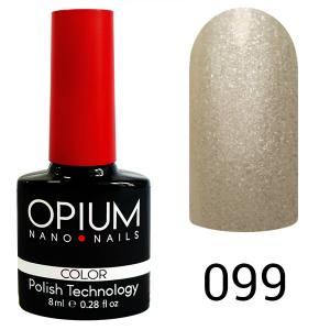 Гель лак OPIUM 8ml №99  Белый шелк