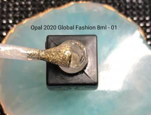 Гель-лак Global Opal 8мл 01