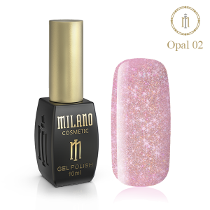 Гель лак Milano Opal 10 мл № 02