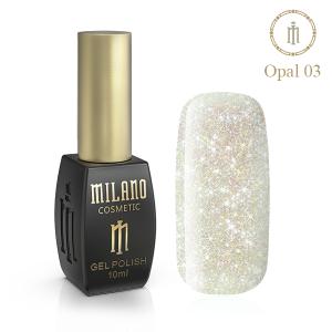 Гель лак Milano Opal 10 мл № 03