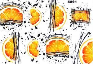 Слайдер водный на прозрачной пленке 5891