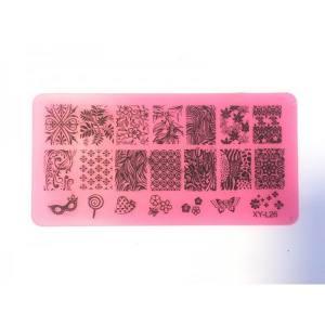 Пластина для стемпинга XY-L026