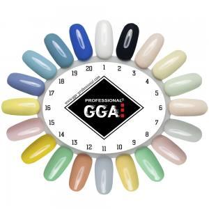 Гель лак GGA Professional 10 мл №20