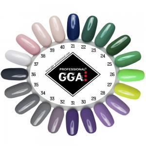 Гель лак GGA Professional 10 мл №34