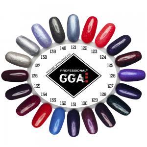 Гель лак GGA Professional 10 мл №123