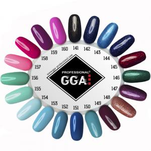 Гель лак GGA Professional 10 мл №144