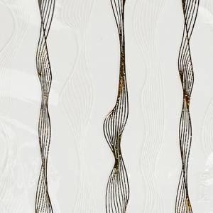 Лента гибкая паутинка бело-серебряная