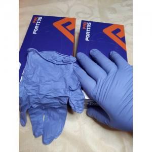 Перчатки нитриловые  Fortius Pro Violet