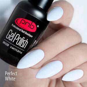 Гель лак PNB Perfect White, 8 мл