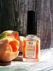 Nila Cuticle Remover  средство для удаления кутикулы персик 12мл