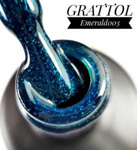 Гель-лак Grattol Emerald 003, 9 мл