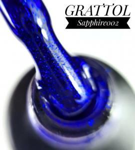 Гель-лак Grattol Sapphire 002, 9 мл