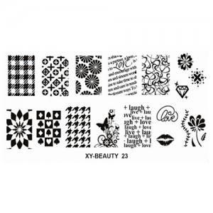 Плата для стемпинга Mart Beauty 23
