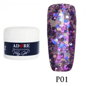 Гель Adore Play Gel P01 фиолетовый с синим 5мл