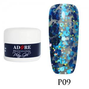 Гель Adore Play Gel P09 сине-голубой 5мл