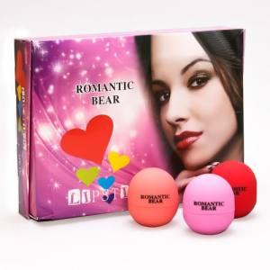 Бальзам для губ Romantic Bear Lipstick  круглый
