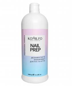 Komilfo Nail Prep  дезинфектор и обезжириватель для ногтей, 1000 мл
