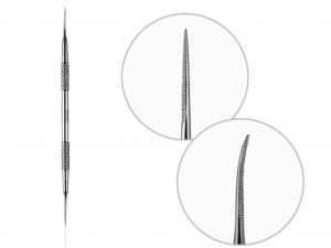 Лопатка педикюрная Razor PW-12  (тонка пилка пряма і пилка із загнутим кінцем)