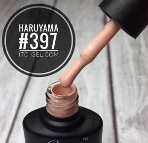 Гель-лак Haruyama Классика №397, молочно-кофейный, 8 мл