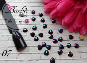 Стразы фигурные стекло BarbieNails 1шт №7