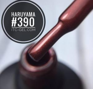 Гель-лак Haruyama Классика №390, бурый, 8 мл
