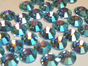 Стразы цветные хамелеоны Aquamarine AB