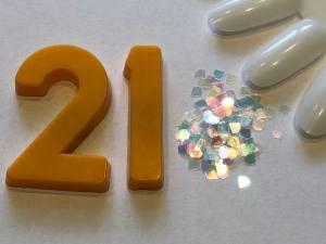 Декор для дизайна в баночке Brilliant Crystal №21