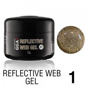 Светоотражающий гель-паутинка GGA Reflective Web Gel 01