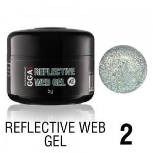 Светоотражающий гель-паутинка GGA Reflective Web Gel 02