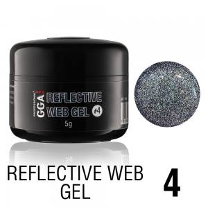 Светоотражающий гель-паутинка GGA Reflective Web Gel 04