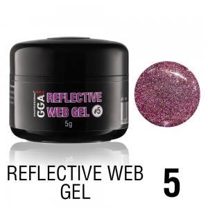 Светоотражающий гель-паутинка GGA Reflective Web Gel 05