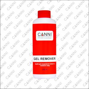 CANNI Gel remover средство для удаления гелевого лака 220мл