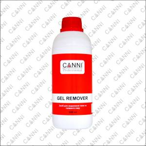 CANNI Gel remover средство для удаления гелевого лака 500мл