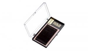 Ресницы Kodi D 0.05 (16 рядов: 9-2; 10-4; 11-4; 12-4; 13-1; 14-1) Gold Standart
