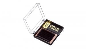 Ресницы Kodi  D 0.07 (6 рядов: 8-2; 9-2; 10-2) Gold Standart