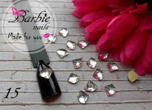 Стразы фигурные стекло BarbieNails 1шт №15