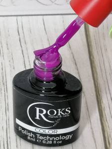 Гель лак Rocks (OPIUM)  8ml №194 Ярко фиолетовый