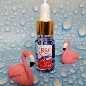 Цветочное масло для ногтей и кутикулы Rocks 10мл Лаванда
