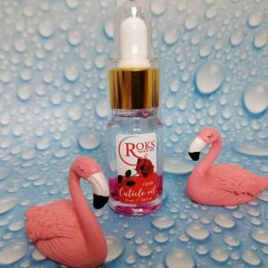 Цветочное масло для ногтей и кутикулы Rocks 10мл Роза