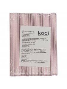 Набор пилок для ногтей Kodi 120/120, цвет: розовый (50шт/уп)