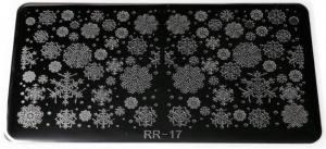 Пластина для стемпинга RR 17