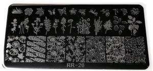 Пластина для стемпинга RR 26
