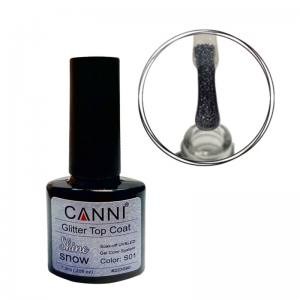 Глиттернный топ CANNI №S01 Snow Shine, 7,3 ml