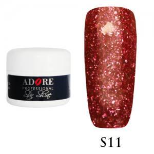 Гель Adore Star Shine S11 красно-малиновый 5г