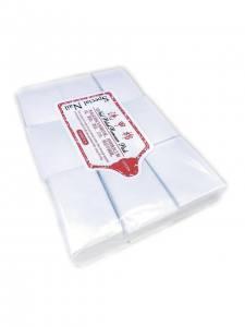 Безворсовые салфетки белые мягкие