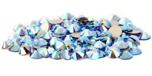 Стразы цветные хамелеоны Sapphire AB