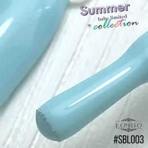 Гель-лак Komilfo Deluxe Series №SBL003 (небесно-голубой, эмаль), 8 мл