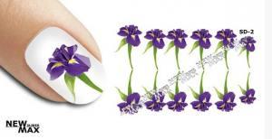 Слайдер-дизайн для ногтей New Max SD-002